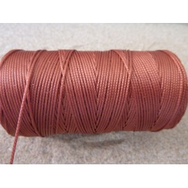 Fil polyester rouille 0,8mm