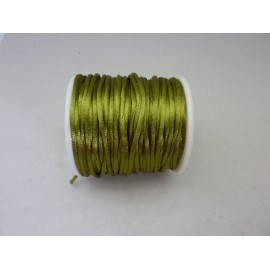 Cordon queue de rat pas cher 2mm vert olive