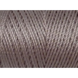 5m fil cordon nylon multicolore 0,8mm parme très pâle