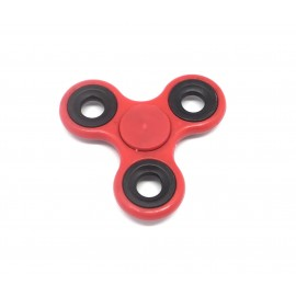 Hand spinner Roulement Fidget TOY Hélice de couleur rouge