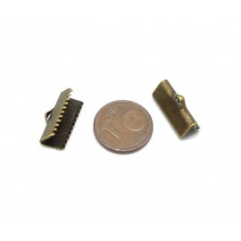 Embout griffe bronze 16mm