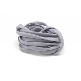 R-2m Cordon lycra élastique stretch 4mm style spaghetti gris