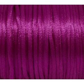 Cordon Queue de rat rose fuschia 2mm pas cher
