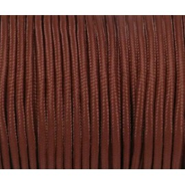 Cordon paracorde 3mm marron acajou